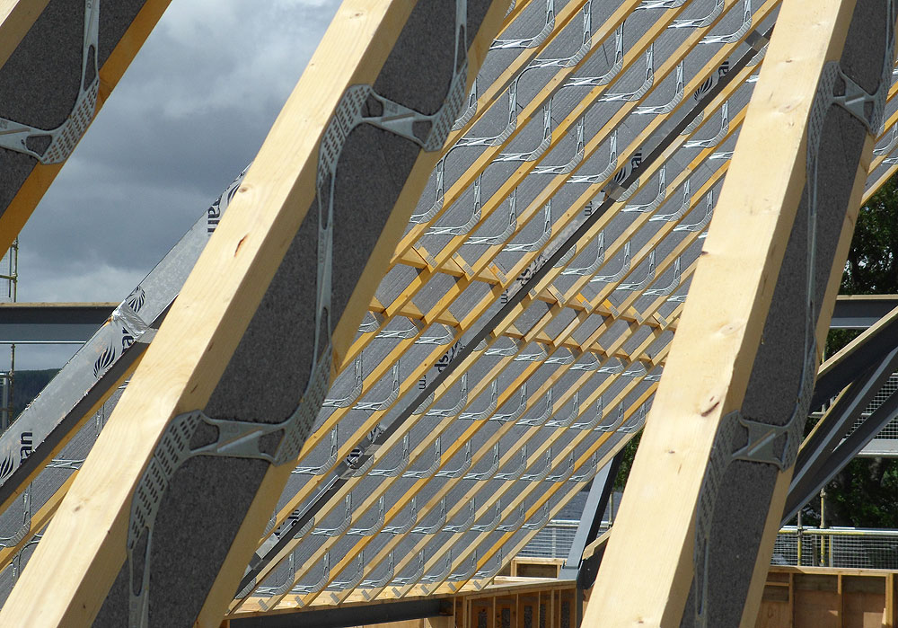 SpaceRafter Timber Rafter Solution
