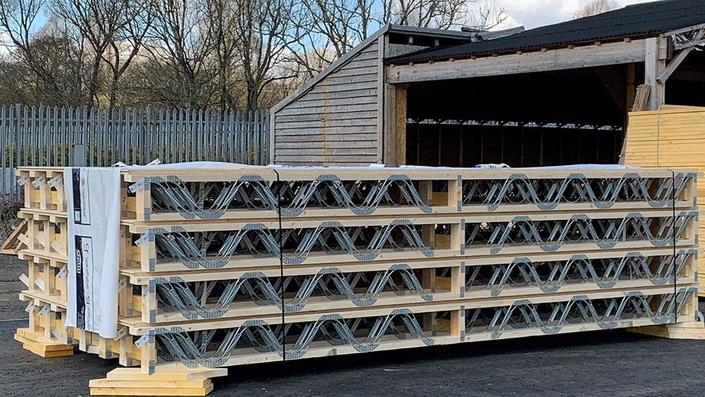 Floortrus Timber Floor Joist System