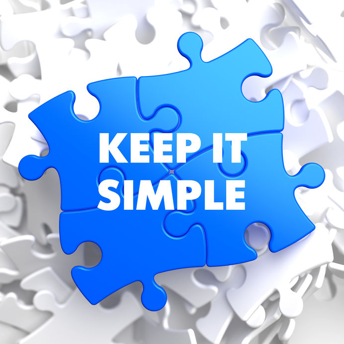 Keep it simple jigsaw