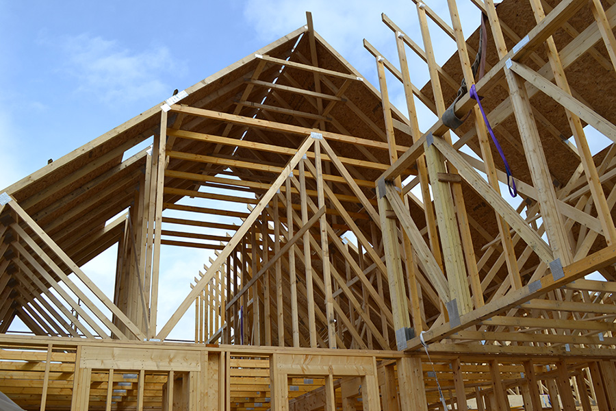 Roof Trusses from Ochil Timber