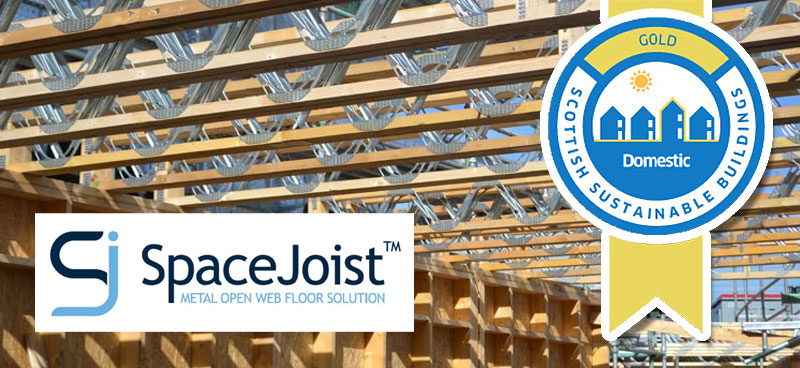 Spacejoist wins Gold Award