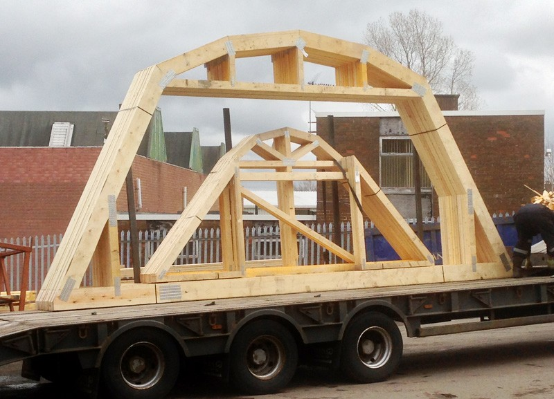 Roof trusses roof joists ochil structural timber for Pre made roof trusses