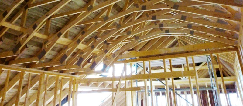 Architecture Curved Roof Truss Design
