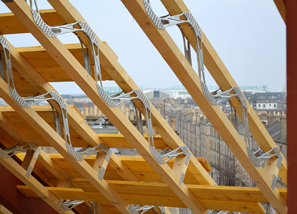 Roof Joists Spacerafter Timber Rafters Solution